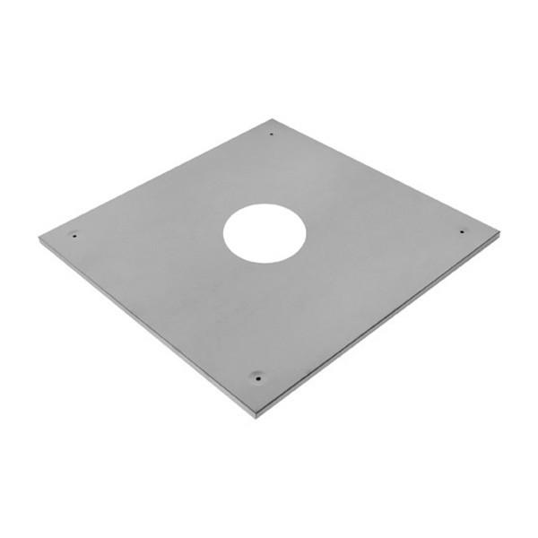 Экран защитный (430/0,5 мм) 500х500 с отверстием Ф150