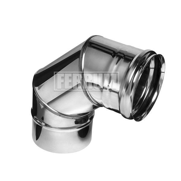 Колено угол 90° (430/0,5 мм) Ф115 (3 секции)