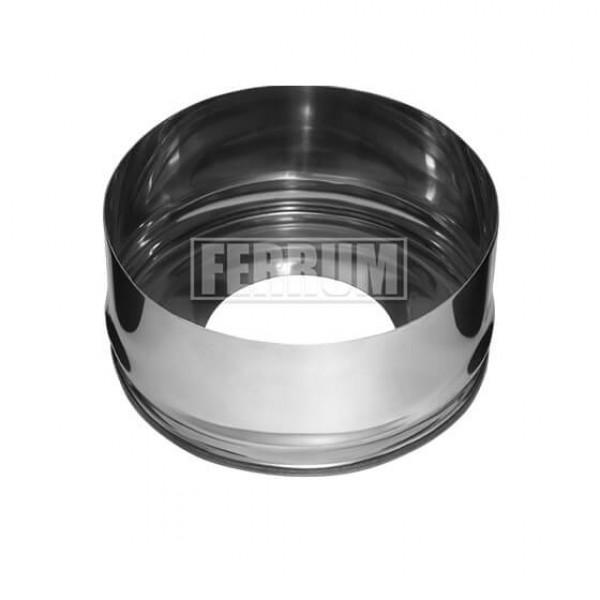 Заглушка (430/0,5 мм) Ф150/210 с отверстием